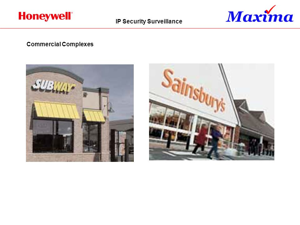 IP Security Surveillance Commercial Complexes