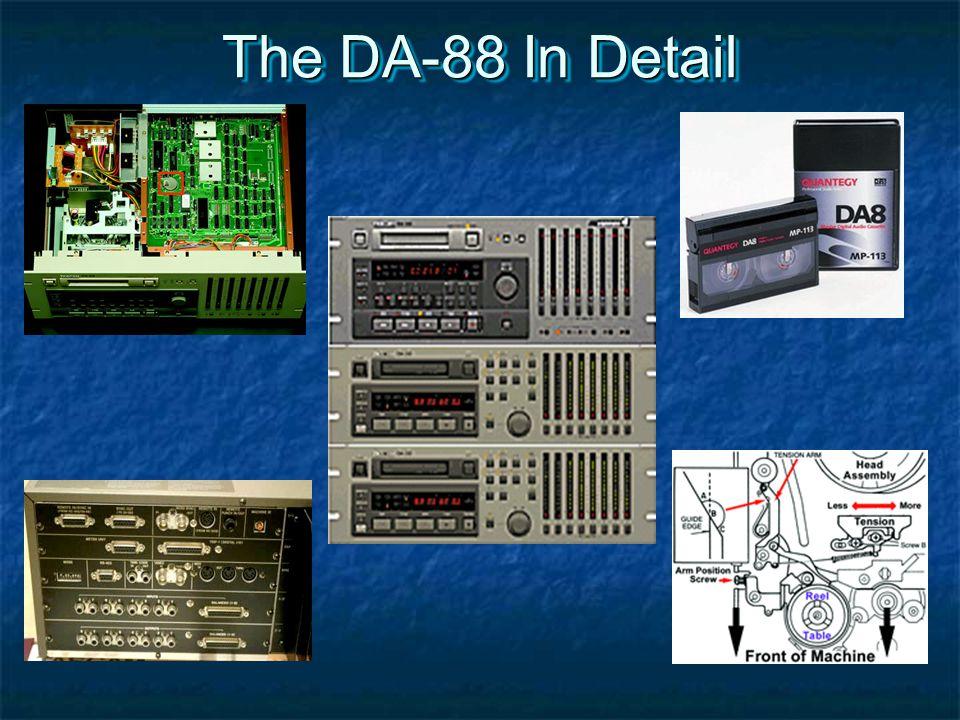 The DA-88 In Detail