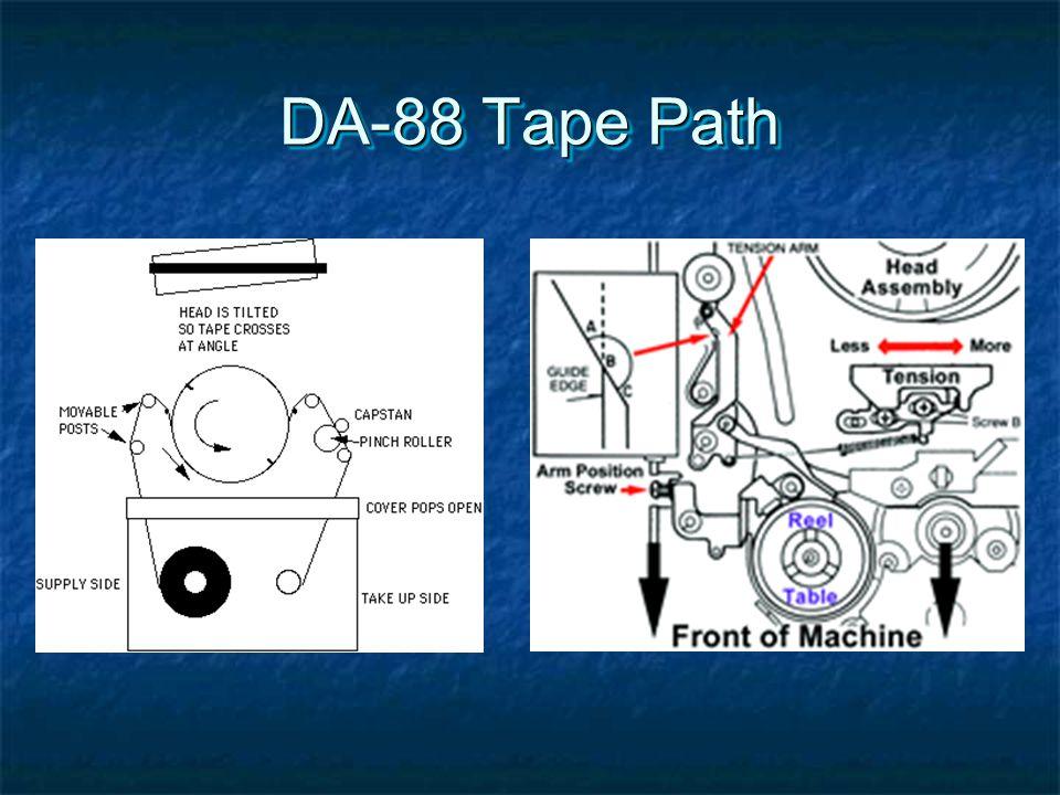 DA-88 Tape Path