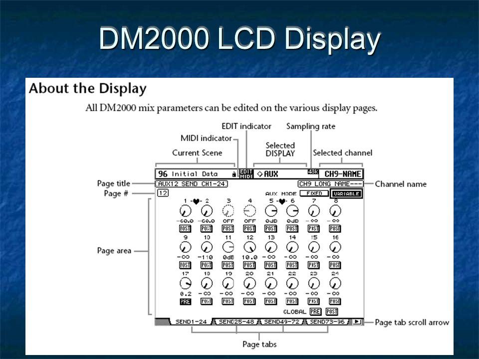 DM2000 LCD Display