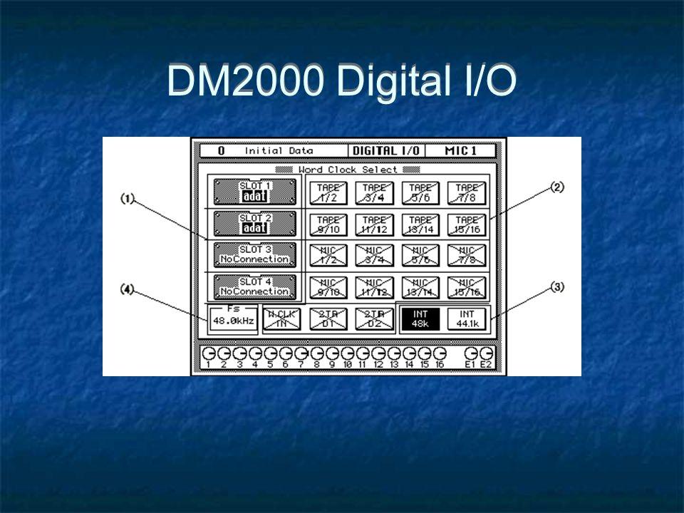 DM2000 Digital I/O