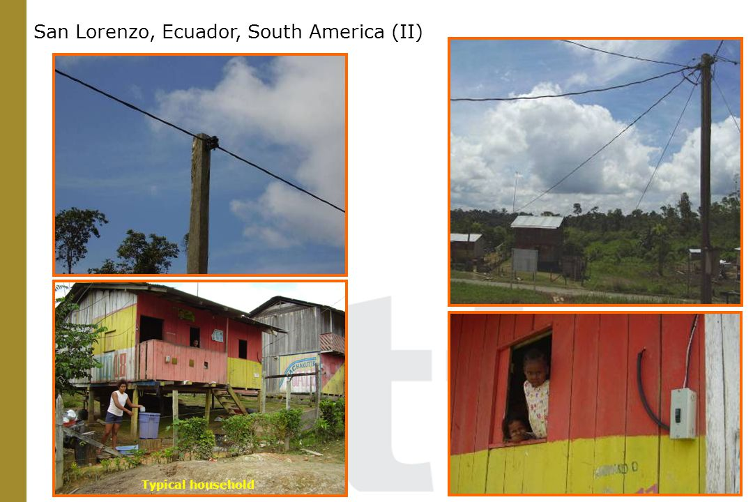 Typical household San Lorenzo, Ecuador, South America (II)