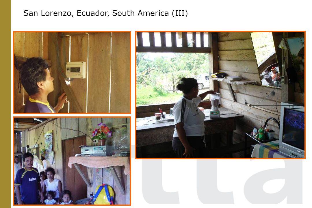San Lorenzo, Ecuador, South America (III)