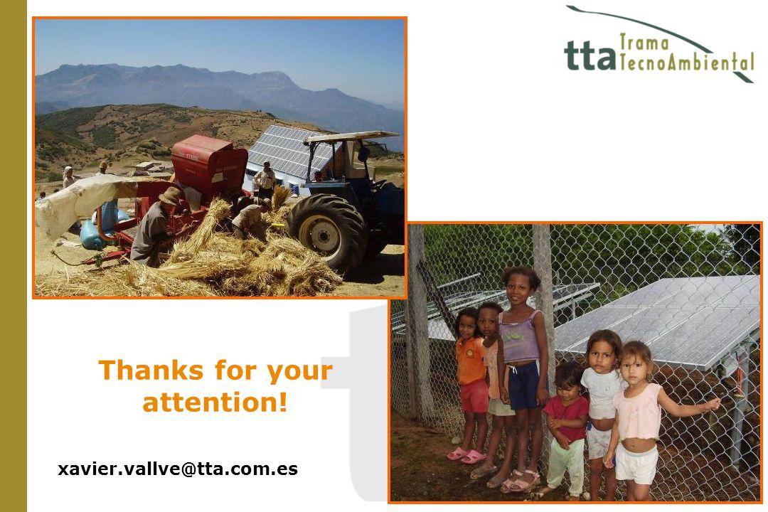xavier.vallve@tta.com.es Thanks for your attention!
