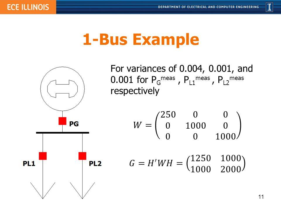 1-Bus Example 11