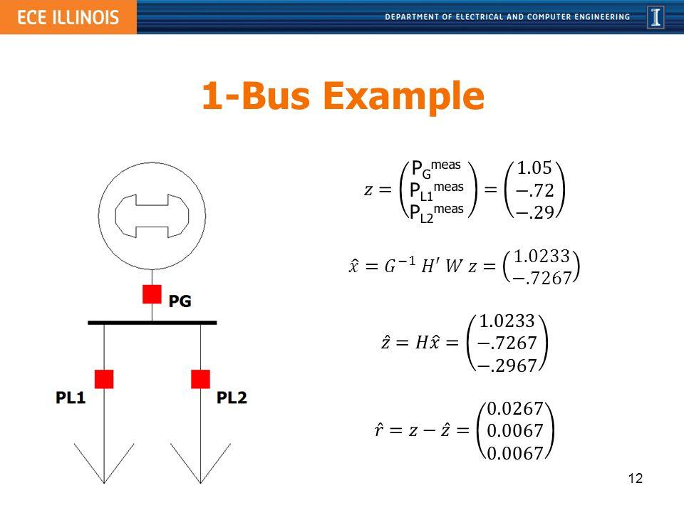1-Bus Example 12