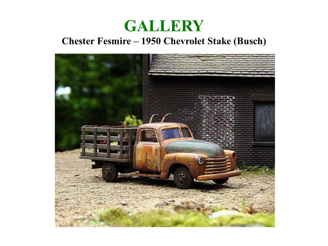 GALLERY Chester Fesmire – 1950 Chevrolet Stake (Busch)