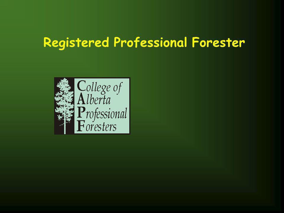 Registered Professional Forester