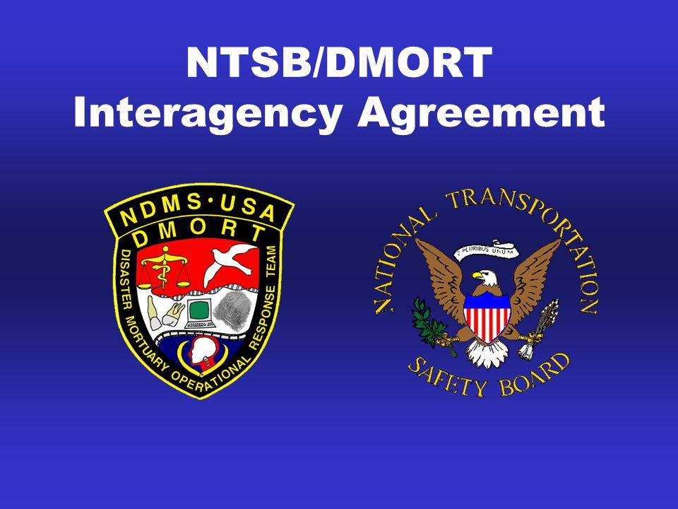NTSB/DMORT Interagency Agreement