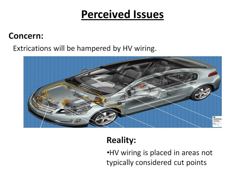 Perceived Issues