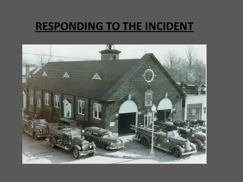 RESPONDING TO THE INCIDENT