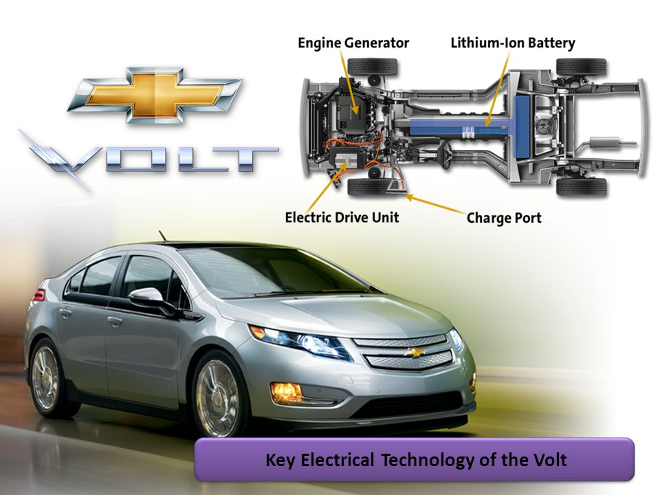 Key Electrical Technology of the Volt