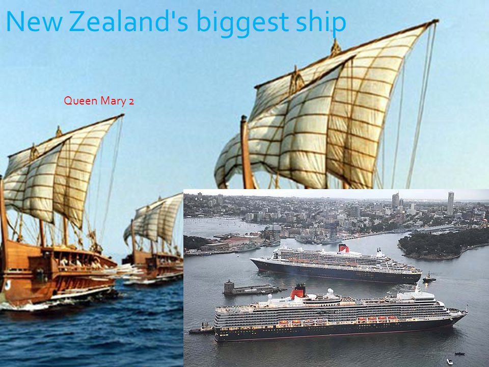 New Zealand s biggest ship Queen Mary 2