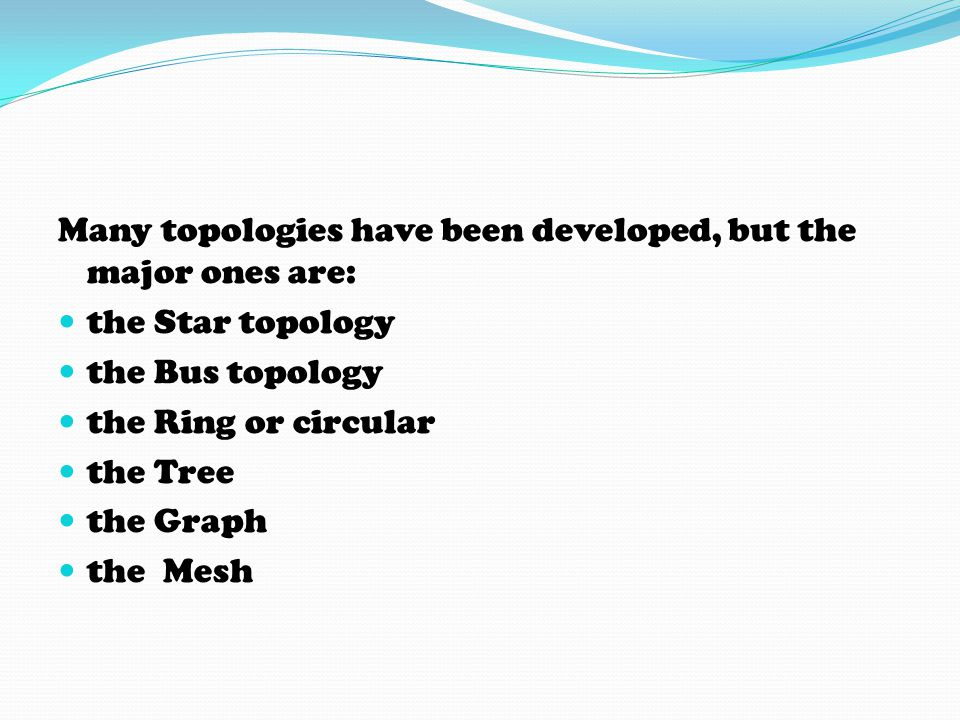STAR TOPOLOGY Star networks are one of the most common computer network topologies.