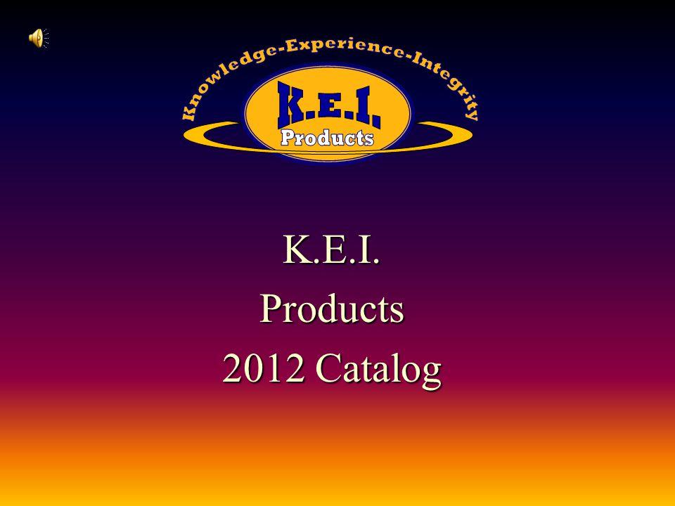 K.E.I.Products 2012 Catalog