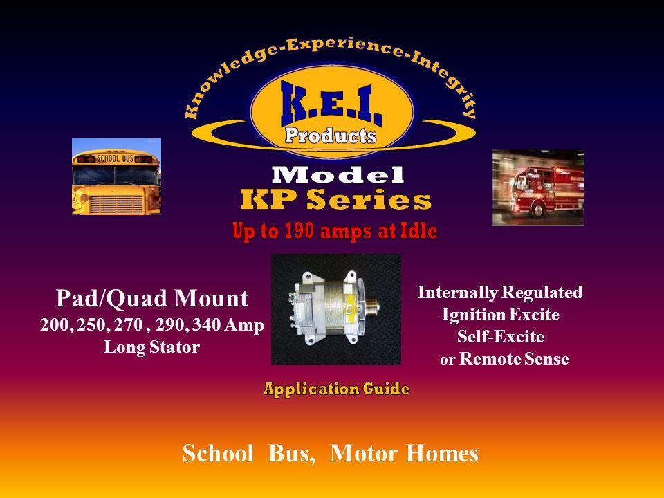 School Bus, Ambulance, Utility, Utility Vehicles, EMS Ford Diesel 210 & 240 Amp Utility Vehicles, EMS Externally Regulated Utility Vehicles, EMS h 7.3 Engines