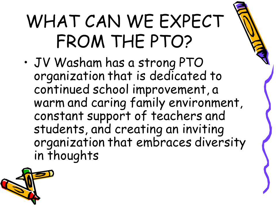 WHAT CAN WE EXPECT FROM THE PTO.