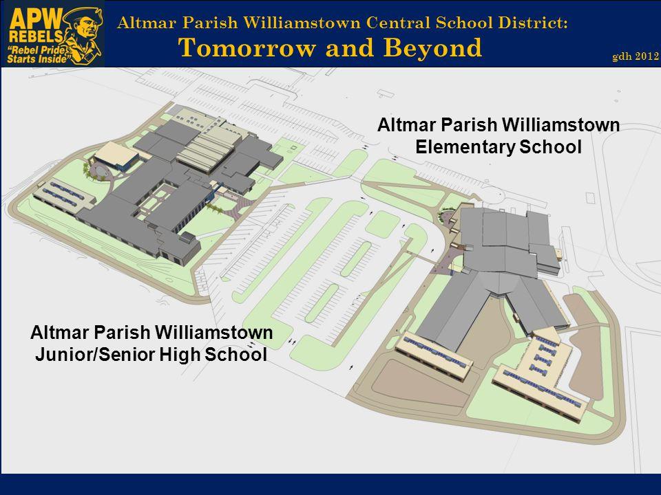 Altmar Parish Williamstown Central School District: Tomorrow and Beyond gdh 2012 Altmar Parish Williamstown Junior/Senior High School Altmar Parish Wi