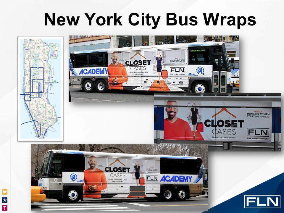 New York City Bus Wraps