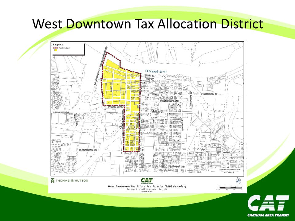 West Downtown Tax Allocation District