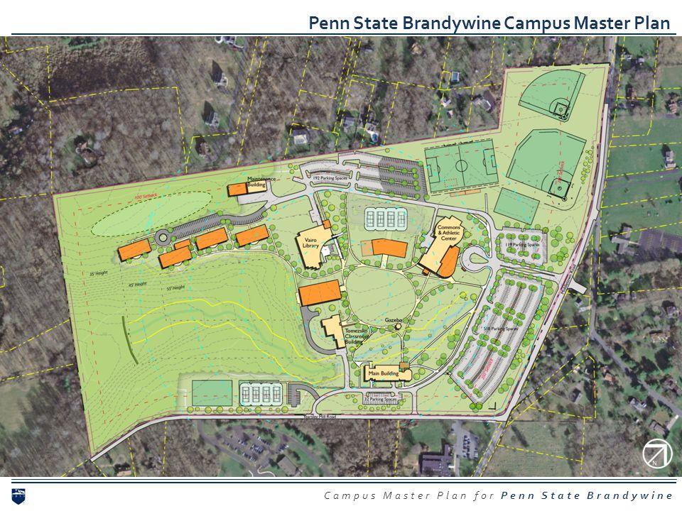 Campus Master Plan for Penn State Brandywine Penn State Brandywine Campus Master Plan