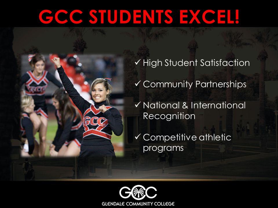 GCC STUDENTS EXCEL.