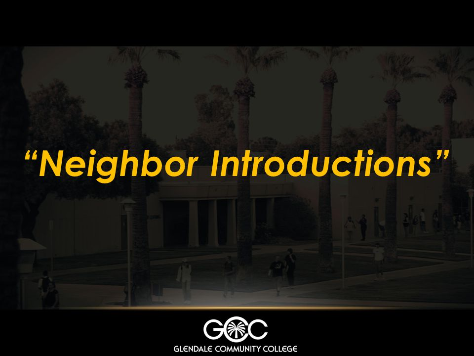 Neighbor Introductions