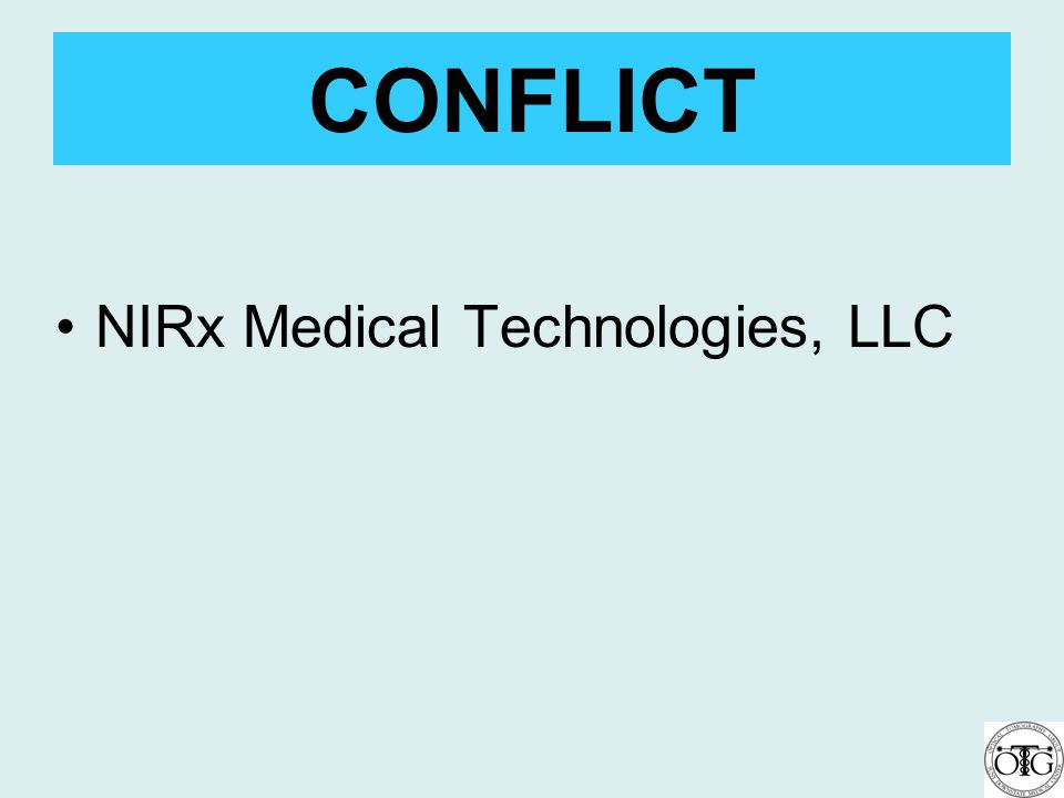 CONFLICT NIRx Medical Technologies, LLC