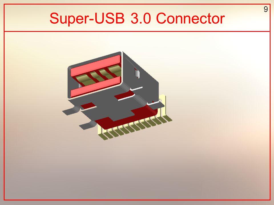 9 Super-USB 3.0 Connector