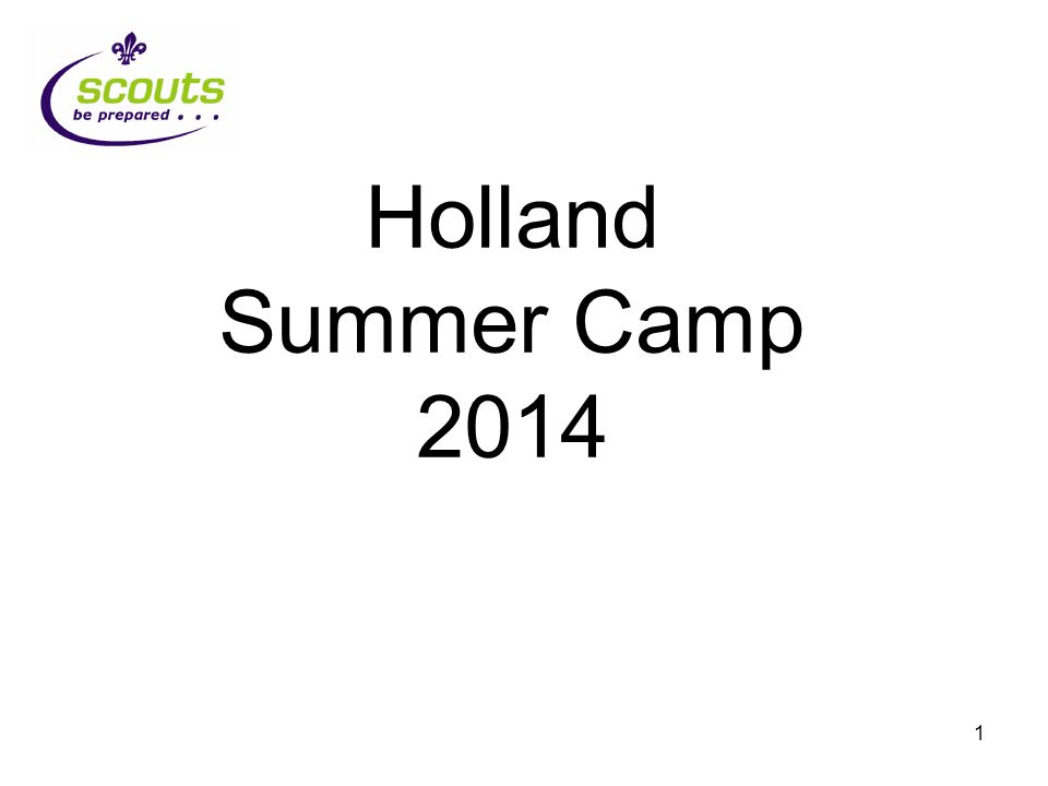 22 Holland 2014 The camp bank is now open for business Any Questions