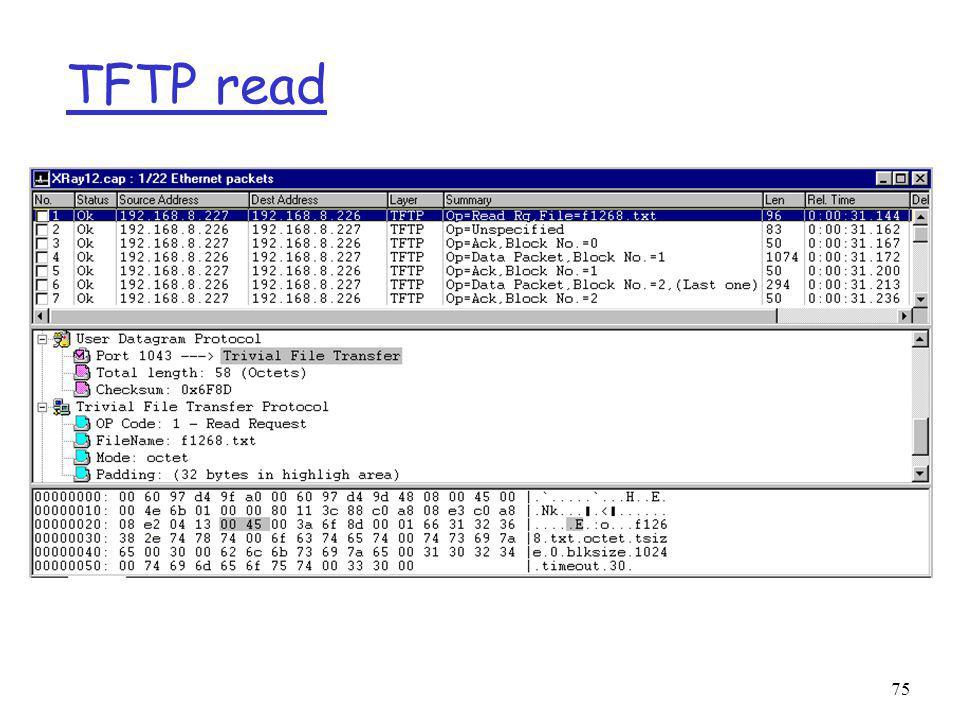 TFTP read 75