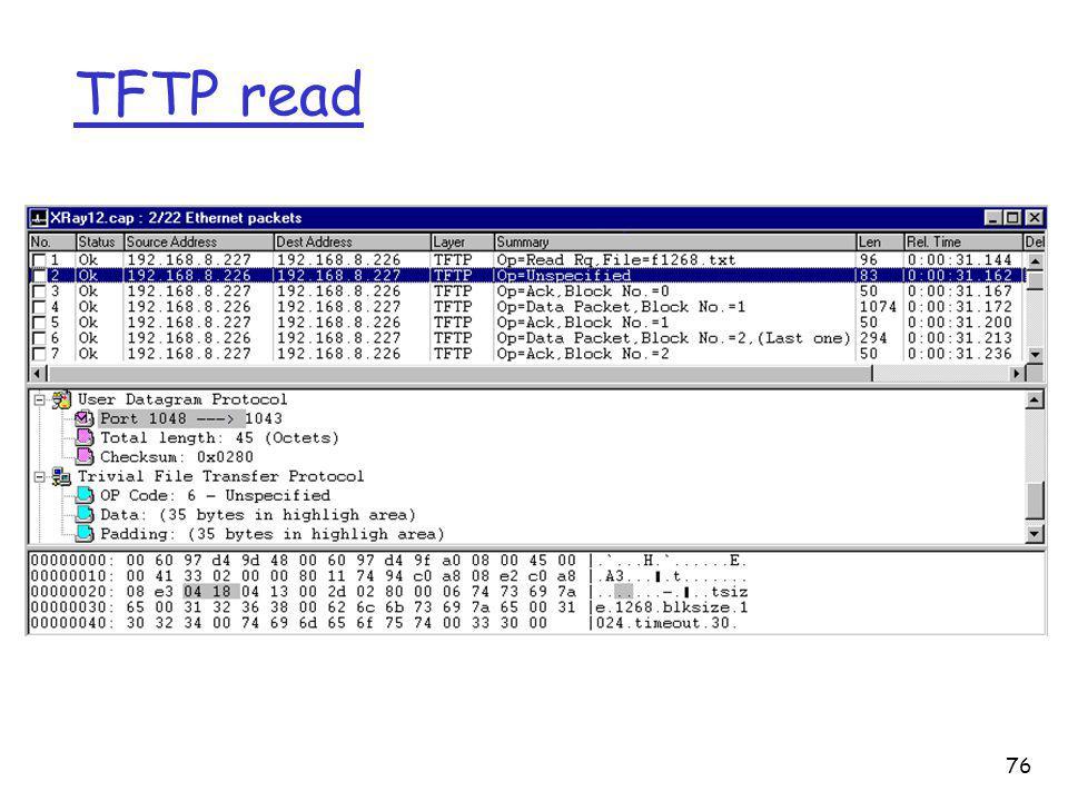 TFTP read 76