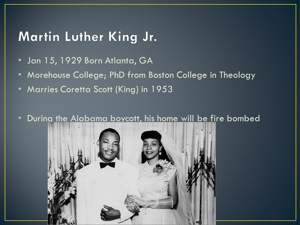 Civil Rights group Martin Luther King Jr.