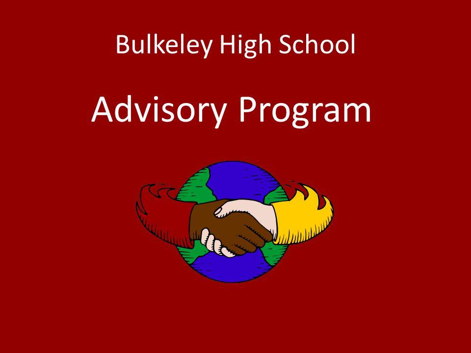 Bulkeley High School Advisory Program