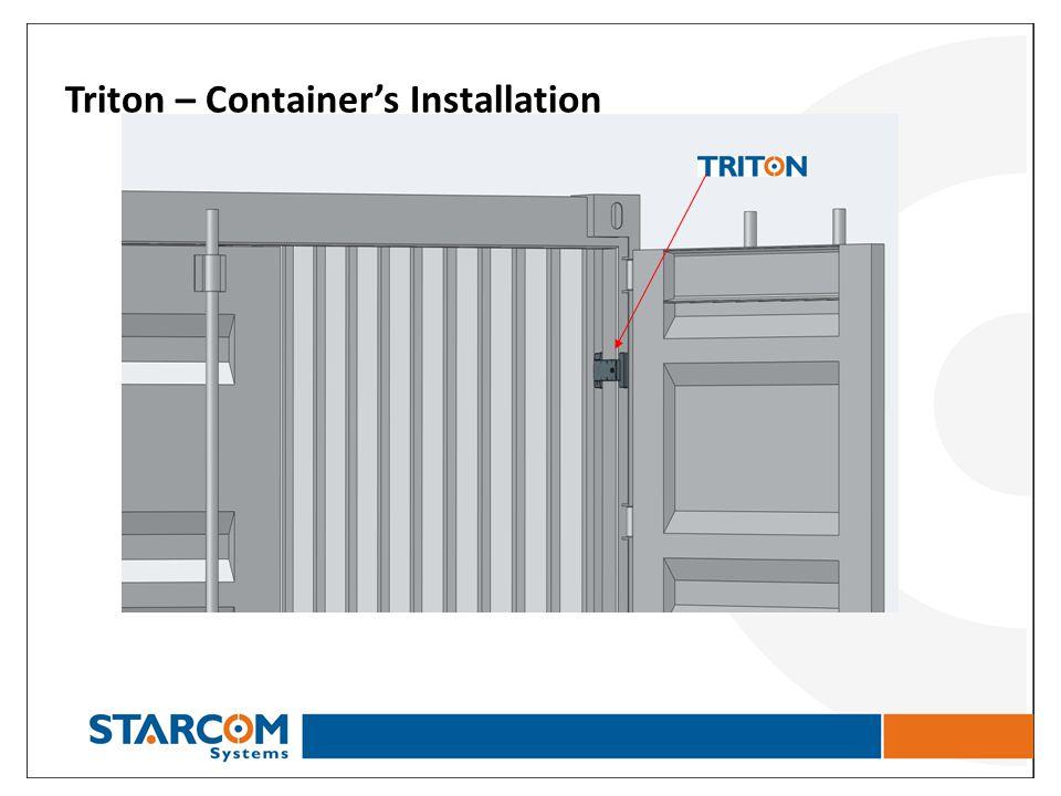 Triton – Containers Installation