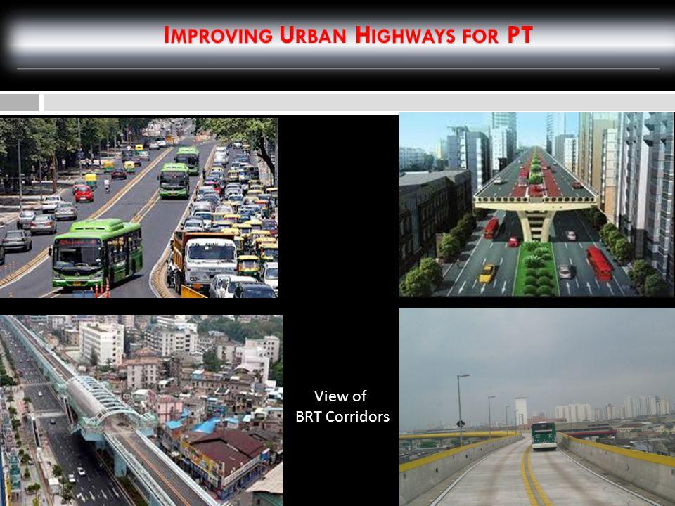 View of BRT Corridors