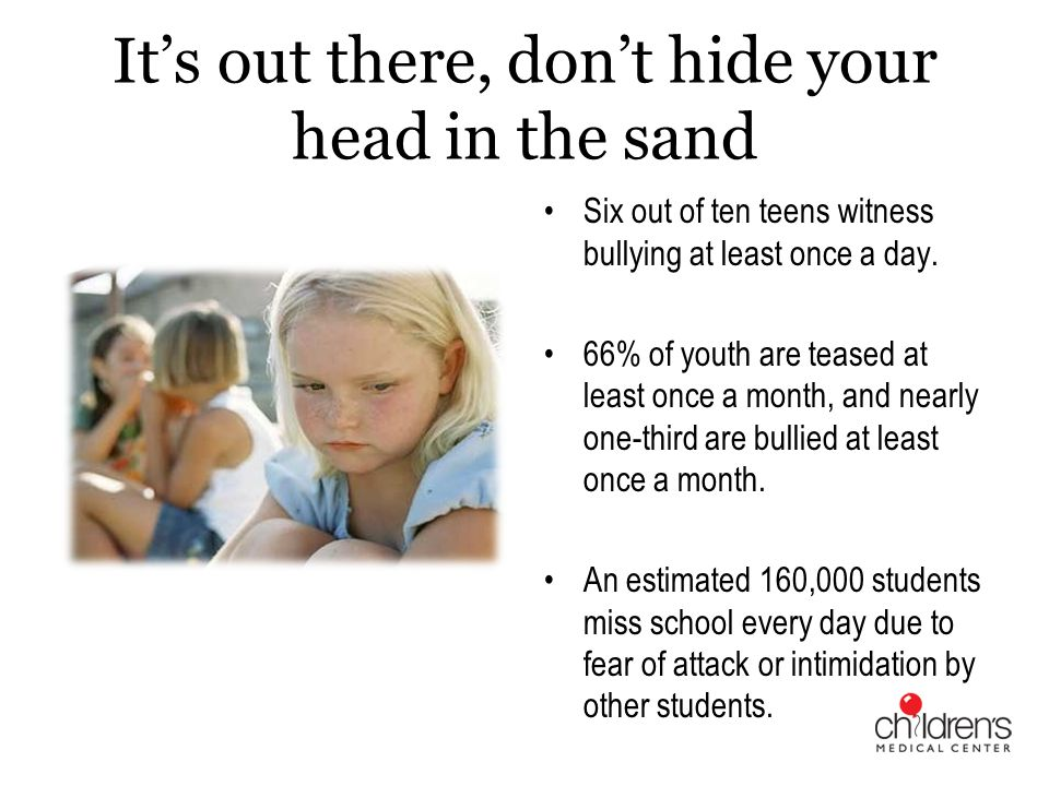 Peer Influence Bullies become empowered Find targets and people to witness their behavior Witness role - Skill Training for Witnesses E - empathy L – language K - kindness