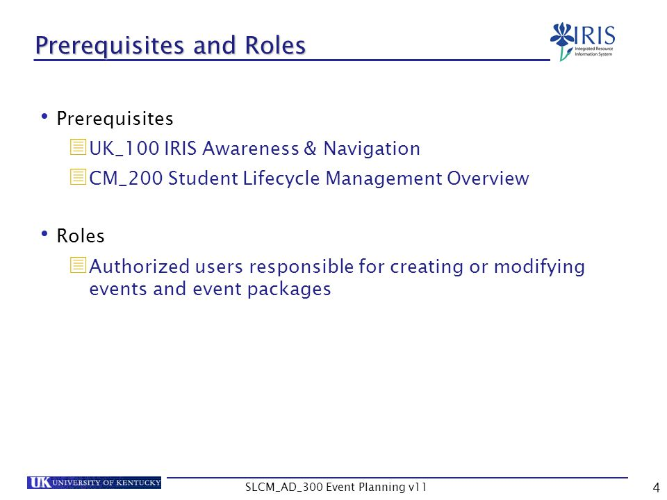 SLCM_AD_300 Event Planning v11 75 Shared Resources and Capacities The capacity on the event should be evaluated particularly when building an event that is shared Remember that the capacity on the event is a suggested capacity, so it can be changed