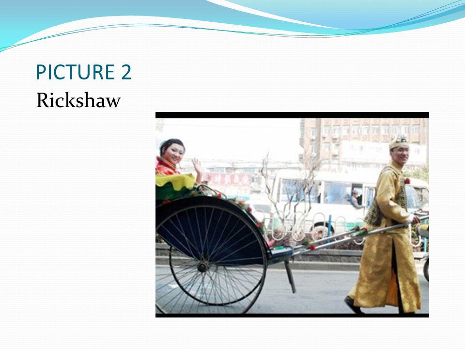 PICTURE 2 Rickshaw