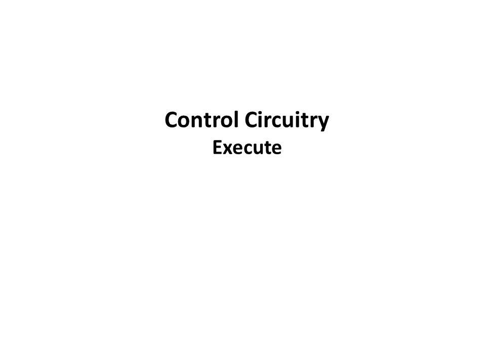 Control Circuitry Execute