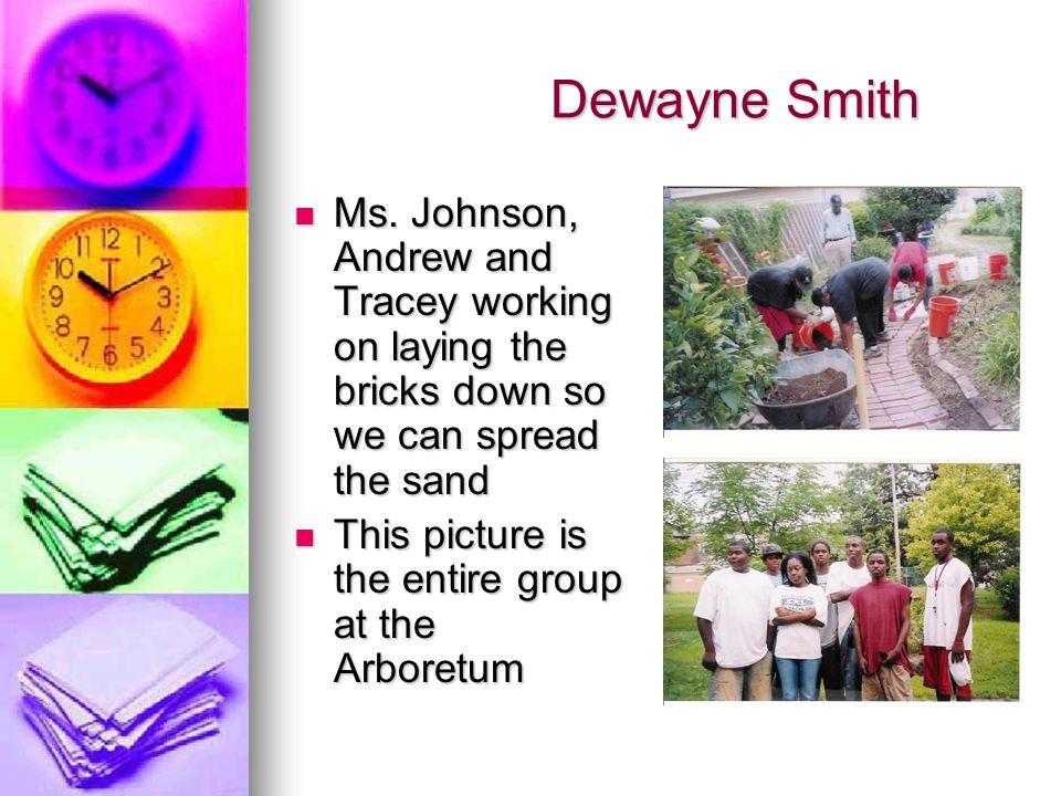 Dewayne Smith Dewayne Smith Ms.