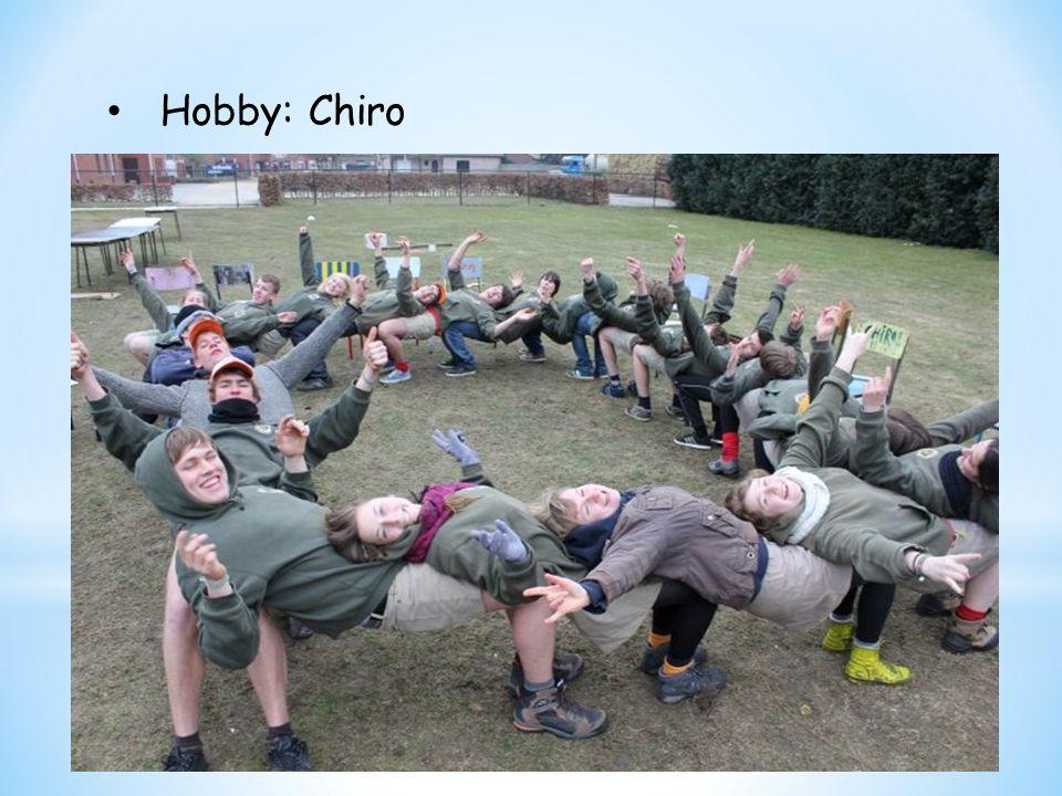 Hobby: Chiro