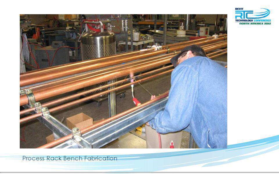 Process Rack Bench Fabrication