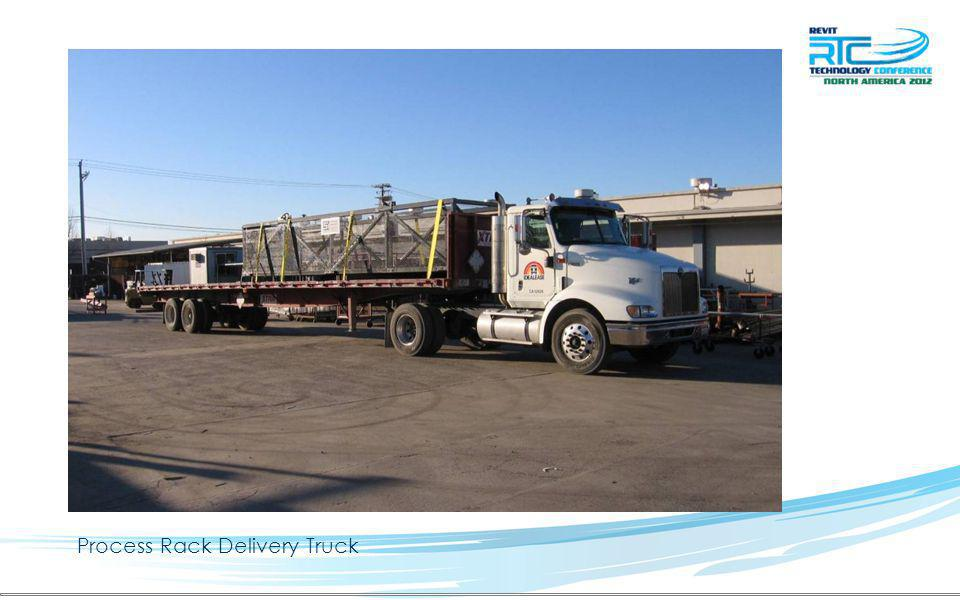 Process Rack Delivery Truck