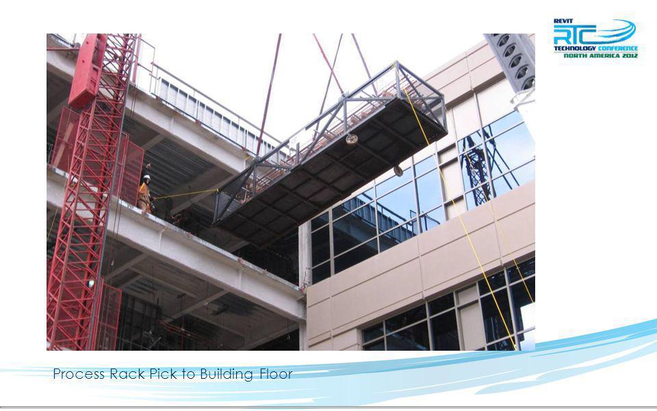 Process Rack Pick to Building Floor