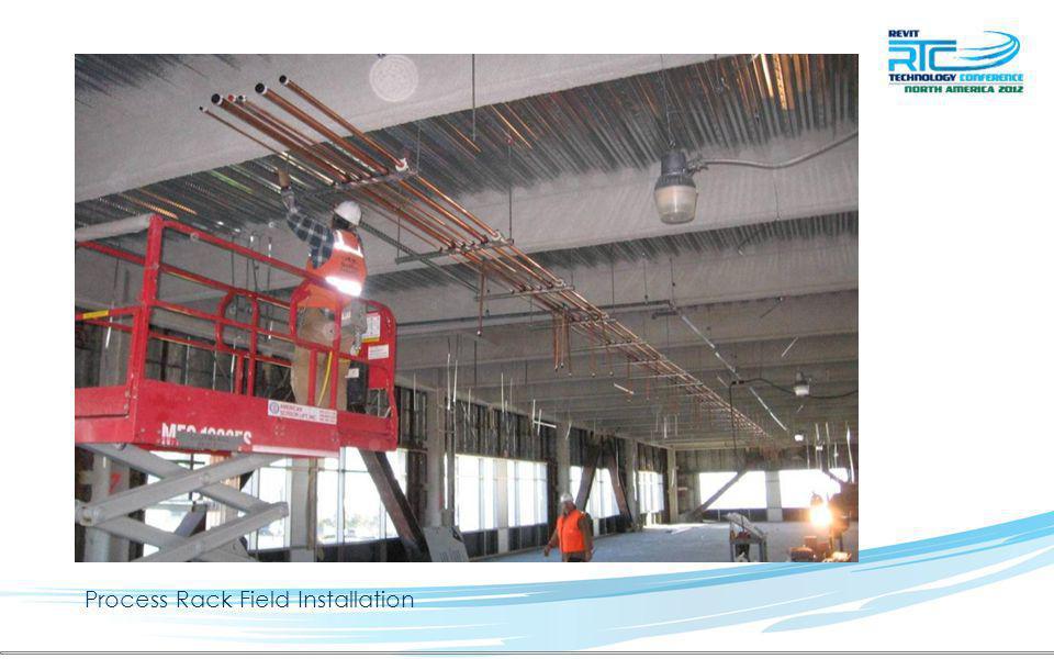 Process Rack Field Installation