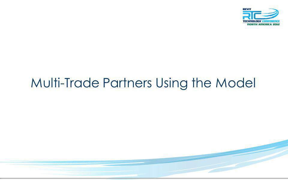 Multi-Trade Partners Using the Model