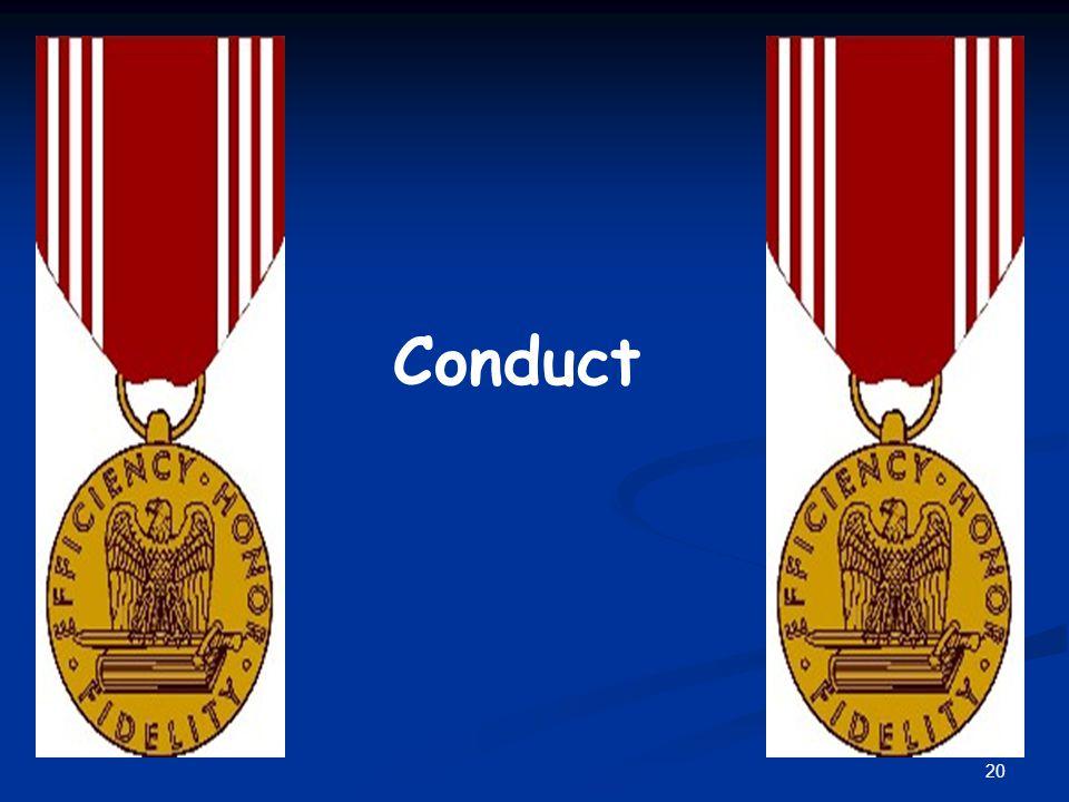 Conduct 20