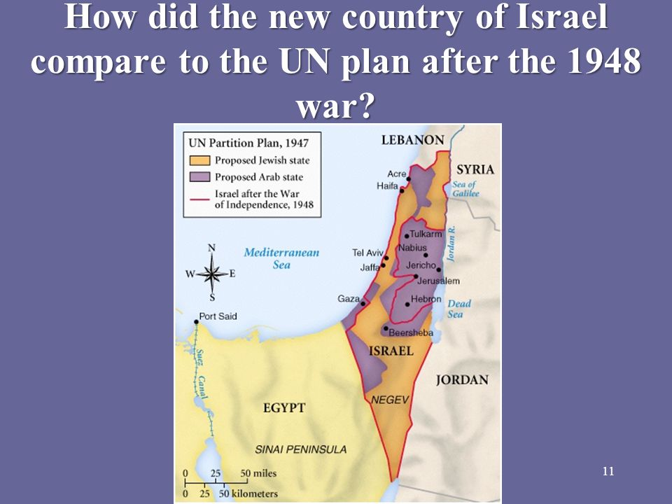 The 1948 War In 1948, Great Britain pulled out of the region, Israel declared its independence, and the surrounding Arab countries immediately attacked Israel.