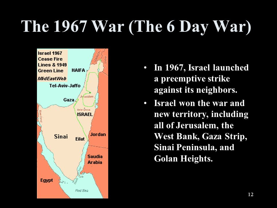 How did the new country of Israel compare to the UN plan after the 1948 war? 11